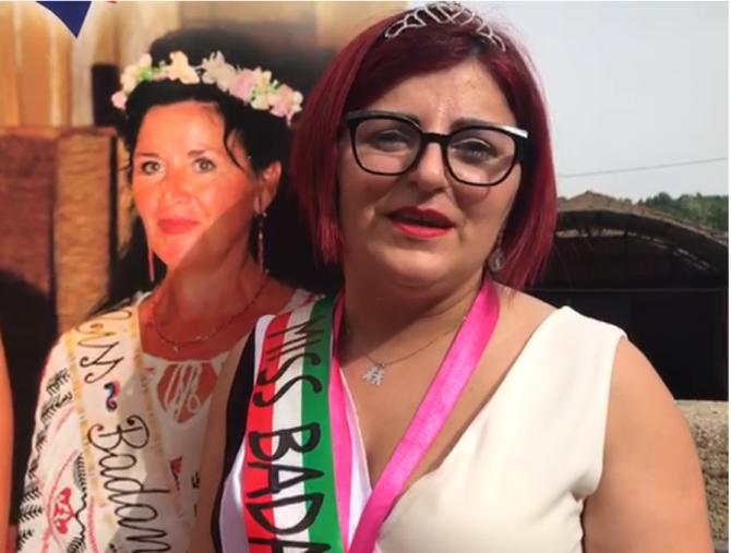 Gianina Paraschiv, castigatoarea concursului Miss Badanta 2021