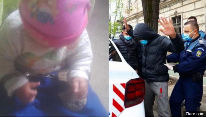 Imagini cu un bebeluș încătușat, găsite de anchetatori pe pagina de Facebook a românului care și-a ucis iubita însărcinată