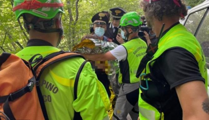 Italia  Copil dat dispărut, găsit de un jurnalist trimis să relateze despre caz de la fața locului Sursa cnsas/twitter