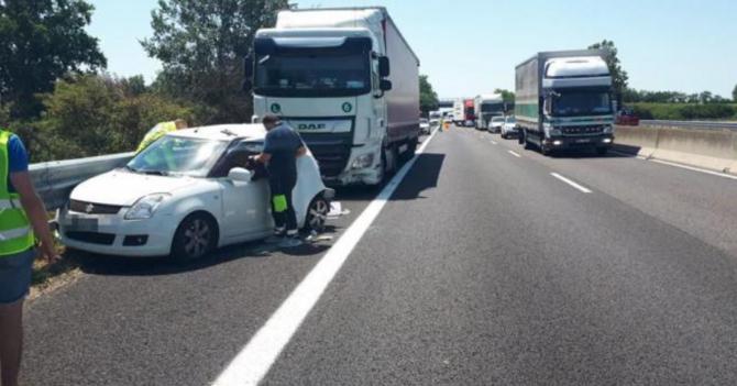 Italia. Un șofer român de TIR a omorât o femeie. Renata nu a mai avut nicio șansă. Foto: captură rovigoindiretta.it