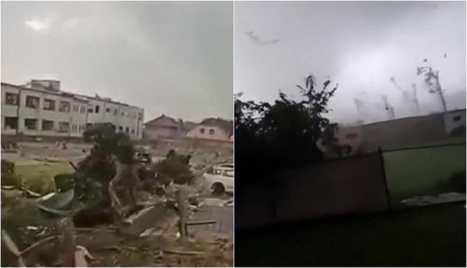 """Mărturii după tornada devastatoare din Cehia """"Parcă a venit Apocalipsa. Era sânge peste tot"""""""