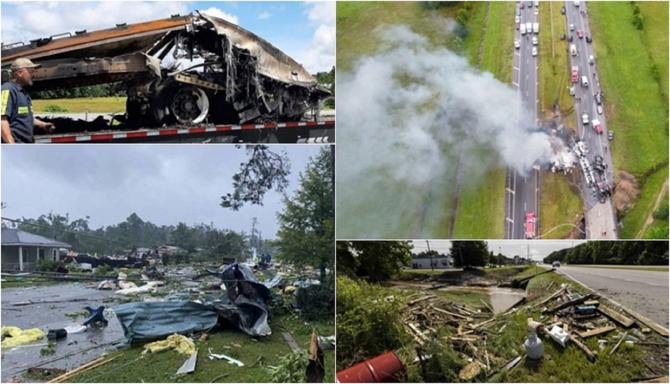Nouă copii și un adult, morți într-un teribil accident între un microbuz și o mașină, pe o autostradă