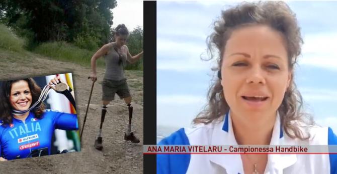 """O româncă va reprezenta Italia la concursul de handbike de la Jocurile Paralimpice 2021. Ana Maria:  """"Voi da totul și chiar mai mult"""""""