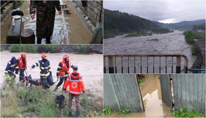 Ploile puternice au lăsat în urmă dezastru în România! Morți, oameni luaţi de ape, numeroase case inundate