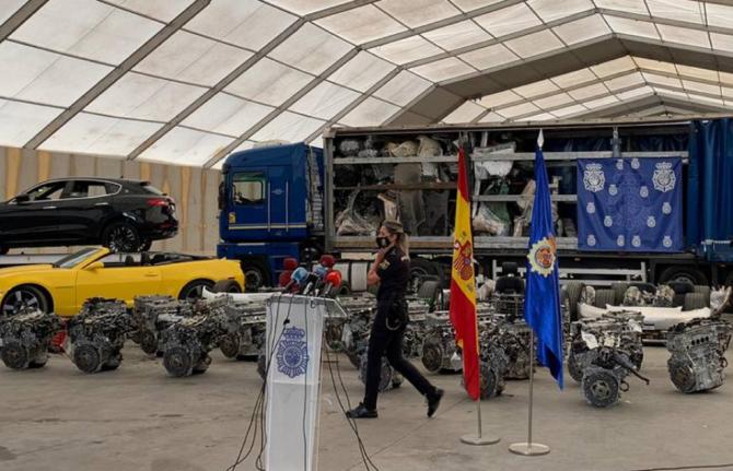 """Spania. Români, arestați în operațiunea """"Modena"""": Cum au reușit să facă 3 milioane de euro în câteva luni. FOTO: captură cope.es"""