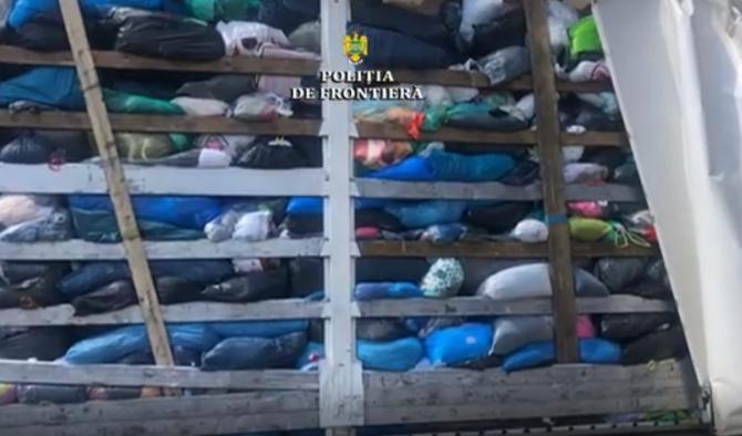 Transport ilegal de deşeuri aduse din Belgia, descoperit în vama Borş I