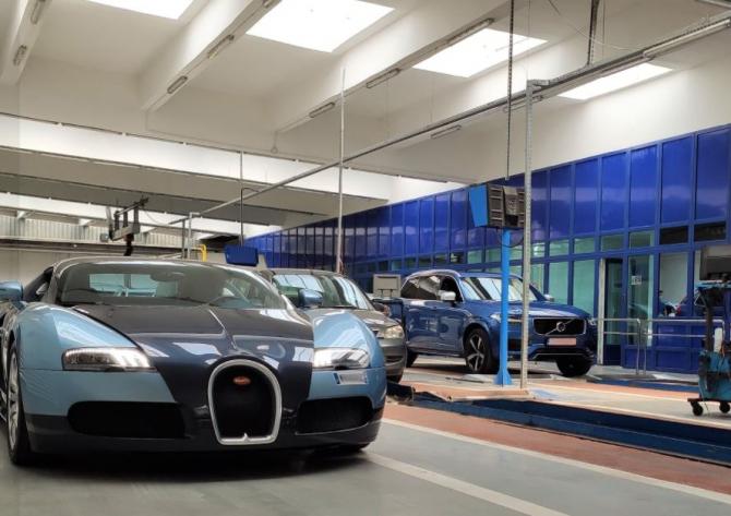 Un Bugatti Veyron a fost înmatriculat în România, anunță Registrul Auto Român