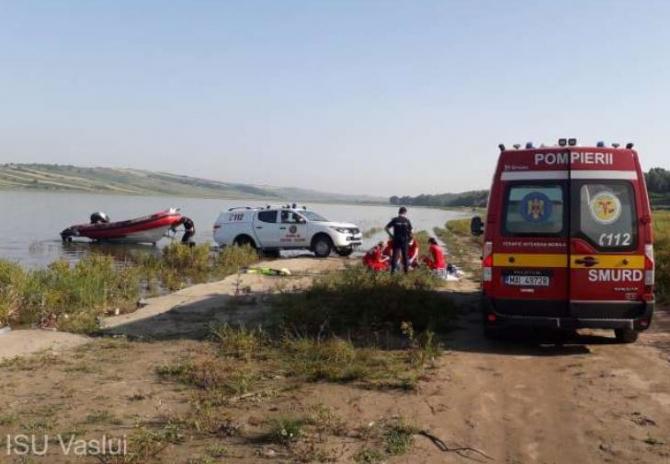 Un român s-a înecat în barajul Soleşti. Bărbatul era la pescuit  Sursa - ISU Vaslui