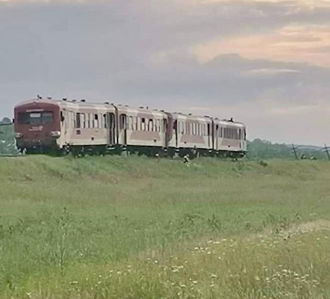 Un tren cu pasageri a deraiat pe un câmp din Botoșani, după ce o vacă a sărit pe șine Sursa monitorulbt.ro