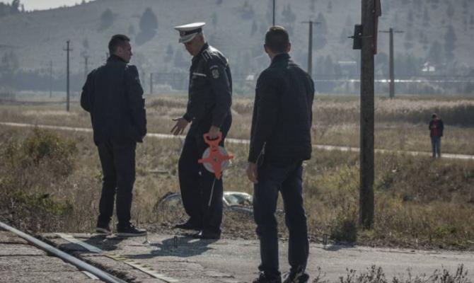 Ungaria. Un șofer român a smuls bariera de la o trecere cale ferata și s-a făcut nevăzut