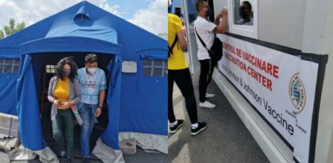 Vești bune de la Departamentul pentru Românii de Pretutindeni S-a deschis primul centru de vaccinare mobil la Nădlac II