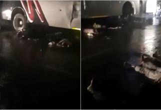 18 persoane au murit, iar alte 30 au fost rănite, după ce un TIR a intrat într-un autobuz plin cu muncitori