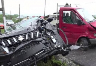 Accident teribil pe DN73. Trei victime