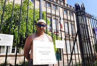 Franța. Român în greva foamei, deoarece nu poate primi permisul de conducere Nu am altă opțiune