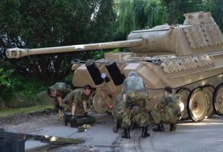 Germania. Un pensionar ascundea în pivniță un tanc din cel de-Al Doilea Război Mondial