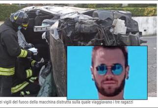 Italia. ROMÂN, MORT într-un ACCIDENT CUMPLIT. Adrian nu a mai avut nicio șansă