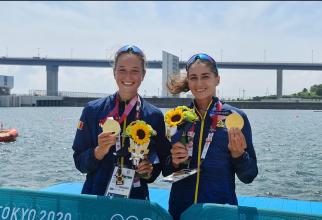 Ancuţa Bodnar şi Simona Radiş, medaliate cu aur la Jocurile Olimpice de la Tokyo