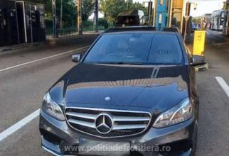 Mercedes-Benz furat din Marea Britanie, reținut în vama Albița. Un șofer a rămas pieton