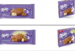 Patru tipuri de înghețată, retrase de la comercializare de pe piața din România de către producător