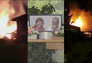 Preot român și soția lui, sfârșit tragic după ce un fulger le-a lovit casa. Costel și Daniela au murit în somn, îmbrăţişaţi