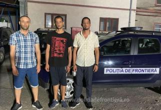 Trei persoane au încercat să treacă, pe jos, frontiera din România în Ungaria