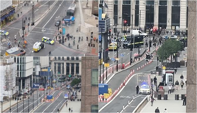 """ALERTĂ cu BOMBĂ în Marea Britanie. London Bridge, EVACUAT """"Vă rugăm să evitați zona!"""""""