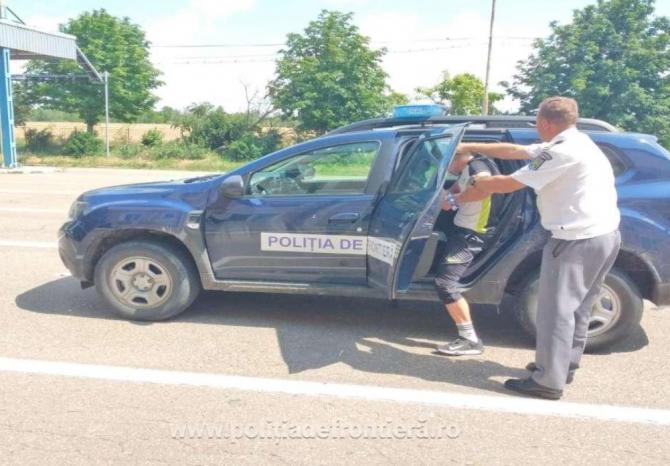 Bărbat, urmărit internațional, depistat după doar două zile, de poliţiştii români de frontieră