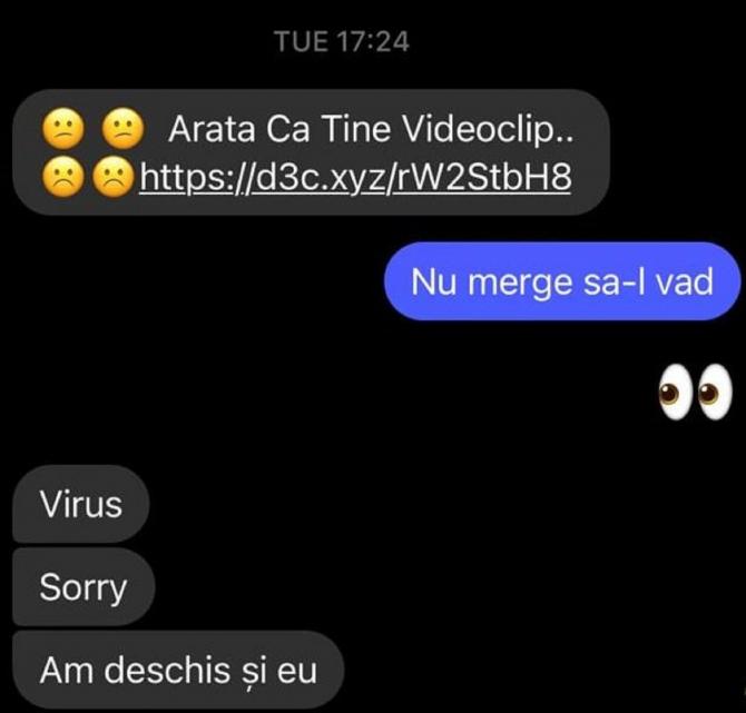 """Ce pățesc românii păcăliți pe Facebook Messenger cu mesajele """"Apari în acest video"""" și """"Seamănă cu tine"""""""