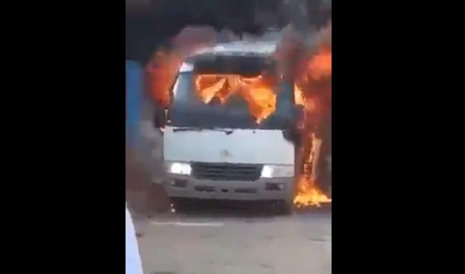 Cel puţin 5 morţi într-un atentat asupra unui autocar cu fotbalişti - VIDEO