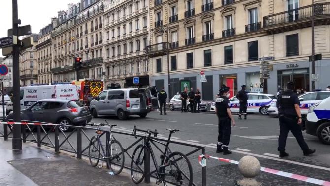 """Franța. Român, suspectat de atac terorist: Ar fi strigat """"Allah Akbar"""" în timp ce a înjunghiat un turist spaniol, la Paris (VIDEO)"""