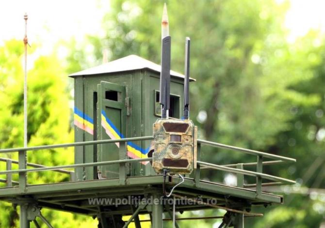 Frontiera României, supravegheată de 250 de noi camere video noi