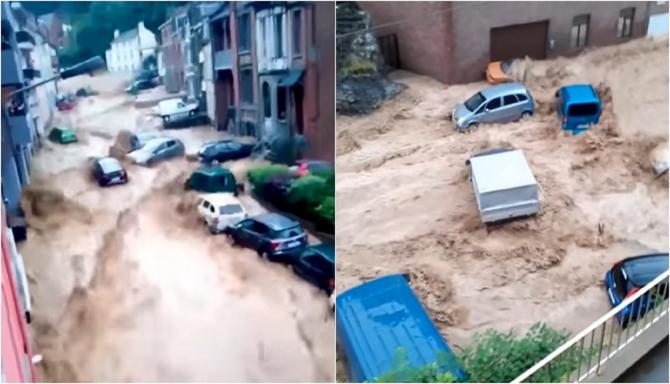 """Inundaţii în Belgia Un judecător de instrucţie, sesizat pentru """"omucideri involuntare"""""""
