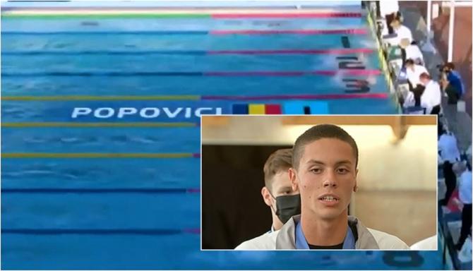 Italia. Un român de 16 ani, noua senzație a natației mondiale. Câte medalii a cucerit David Popovici într-o săptămână
