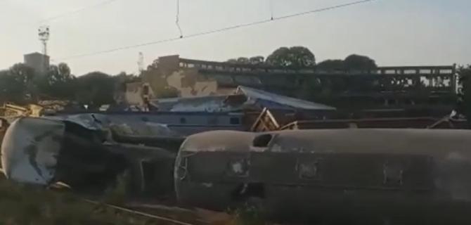 Mecanicul care a provocat accidentul feroviar de la Fetești, reținut