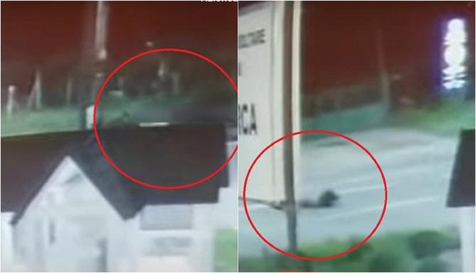 Momentul teribil în care un român a fost spulberat pe şosea. Coborâse din autocarul care-l aducea din Italia - VIDEO