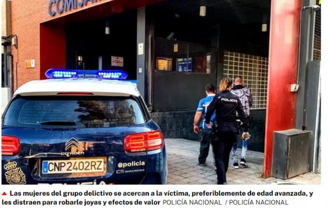 """Spania. Șase ROMÂNI, ESCROCHERIE de proporții cu METODA """"furt afectiv"""". Cum acționau. FOTO: captură larazon.es"""