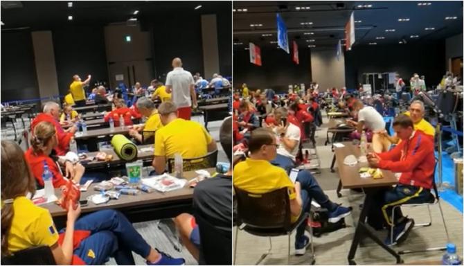 """Sportivii români au parte de condiții dure la Jocurile Olimpice de la Tokyo """"Am avut un șoc"""""""