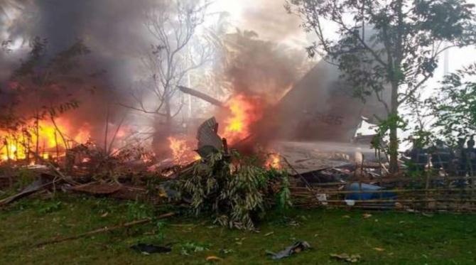 Un avion cu 85 de persoane s-a prăbușit în Filipine