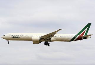 Greva Alitalia a creat haos la Roma
