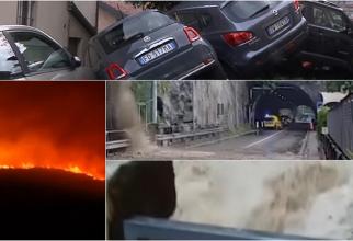"""Italia, lovită de inundații în nord și de incendii în sud: """"Situația este gravă și dezastruoasă"""""""