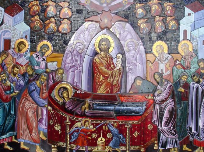 Adormirea Maicii Domnului, prăznuită pe 15 august. Dacă înfloresc trandafirii, atunci toamna va fi lungă, frumoasă şi îmbelşugata