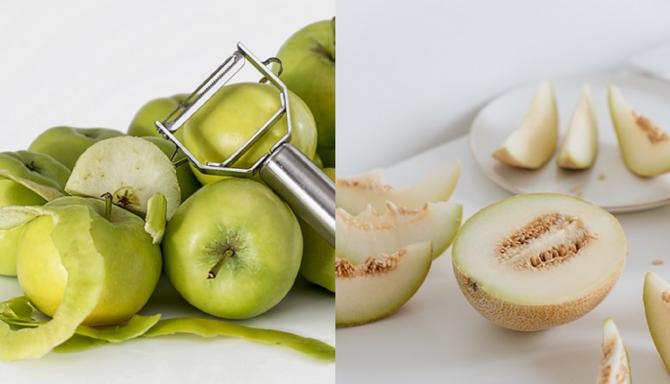 Amestecă un măr cu o felie de pepene galben și lasă să acționeze 15 minute. Rezultat spectaculos garantat!