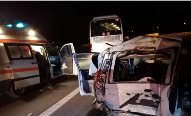 Autocar cu români, implicat într-un accident mortal. FOTO: captură monitoruldevrancea.ro