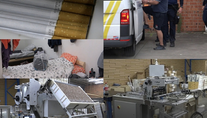 """Belgia. Zeci de români, la cea mai mare fabrică ilegală de țigări """"Sunt doar pioni în rețeaua criminală mai mare"""""""