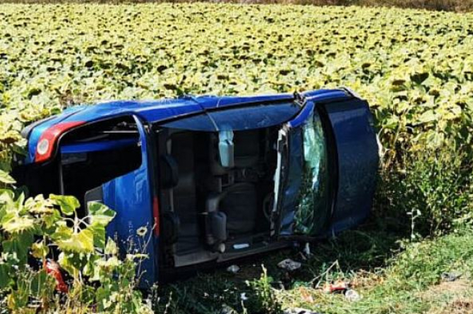 Cinci români răniți, din care trei minori, într-unaccident rutier grav  Sursa svnews.ro