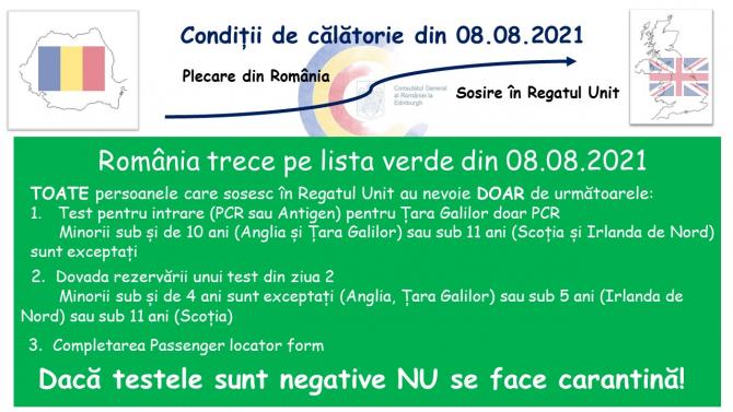 sursa: Ambasada României în Regatul Unit al Marii Britanii şi Irlandei de Nord / Facebook
