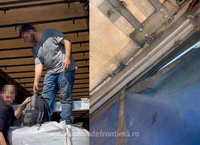 Doi afgani, care voiau să ajungă în Italia, reținuți la la Vaslui. Bărbații s-au ascuns într-un TIR care mergea spre Rusia