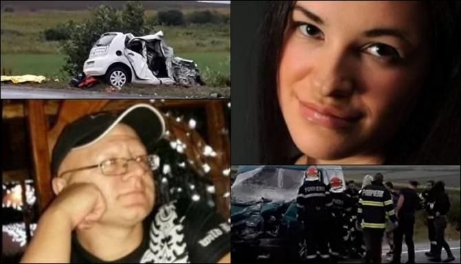 EI sunt cei doi ROMÂNI MORȚI în TERIBILUL ACCIDENT dintre un MICROBUZ și o MAȘINĂ. Ionuț și Ramona au decedat pe loc