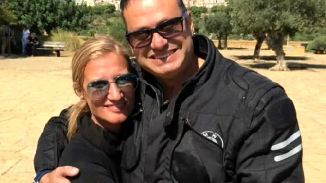Giusy Bruzzese si Silvestro Romeo Sursa foto: Facebook