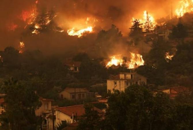 Grecia. Incendiile sunt sub control, dar pericolul rămâne ridicat